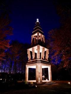 Die Diamant Stupa im EIAB