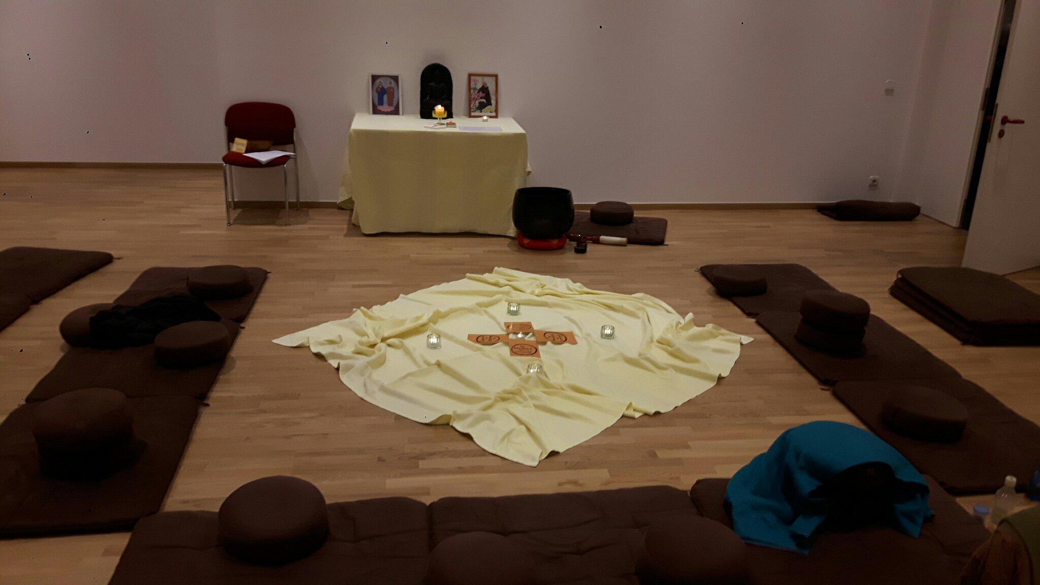 Meditationsraum im BMW-Nachbarschaftsforum
