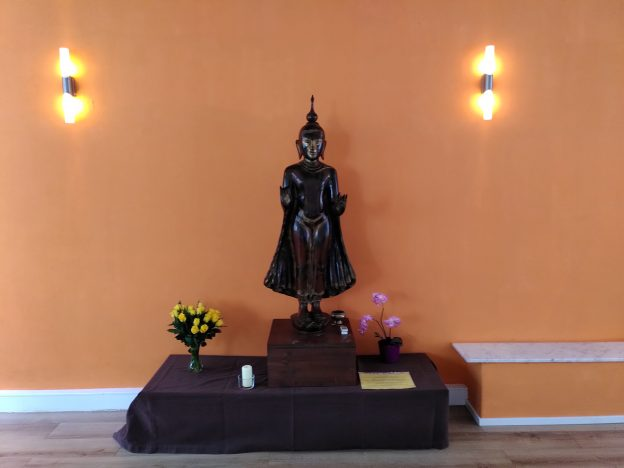 Buddha im Achtamkeitszentrum München