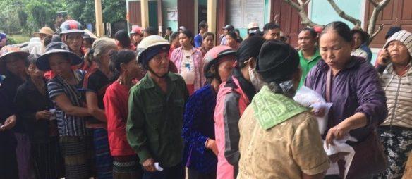 Der aktuelle Stand der FluthilfeFlut in Vietnam